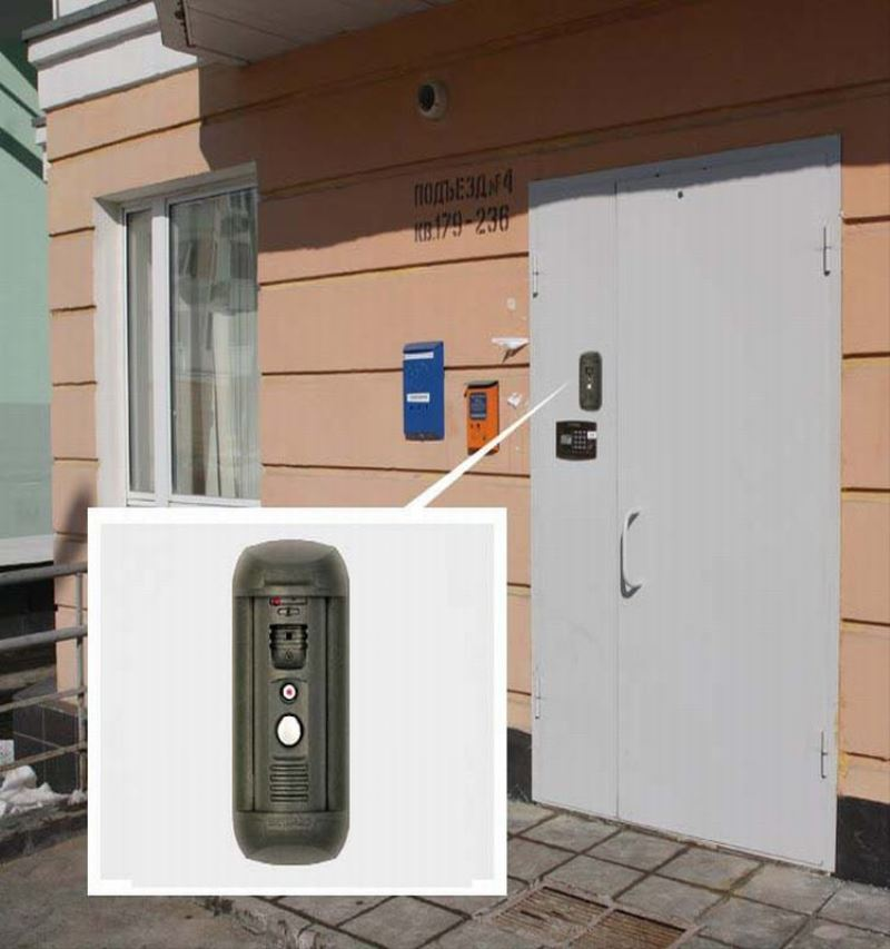 China manufacture wireless intercom system for apartments face recognition access control system