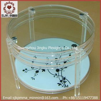 Plexiglass Table Legs, Crystal Furniture Legs For Coffee Tables