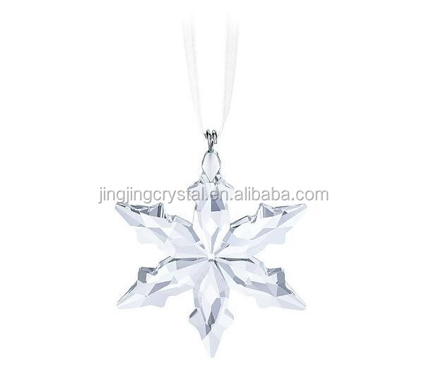 Christmas Crystal Snowflake Ornament With High Quality
