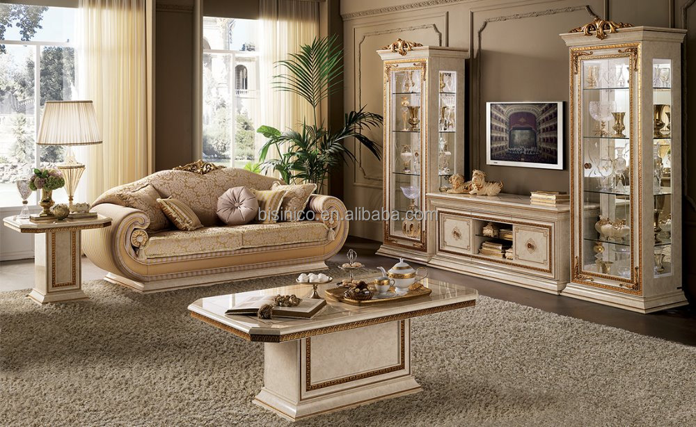 Admirable European Elegant Hand Carved Golden Upholstery Sofa Set With Tv Cabinet And Display Cabinet Moq1 Set Buy European Golden Upholstery Sofa European Gmtry Best Dining Table And Chair Ideas Images Gmtryco