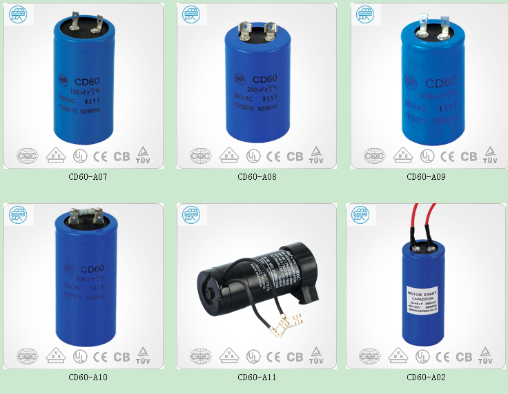 Motor Start Capacitor Cd60a Capacitor And Capacitor 470uf
