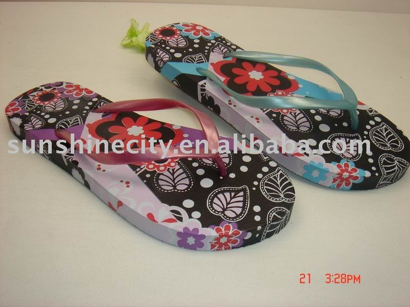 2010 NEW WATER TRANSFER PRINTING SLIPPER