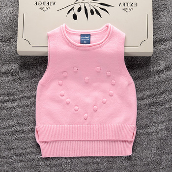 2ddbdc305 Newborn Baby Clothes Wholesale Baby Knitted Sweater Design Girl Vest ...