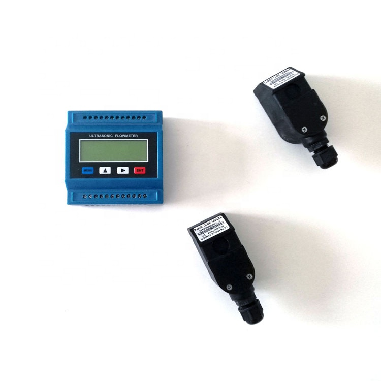 TUF-2000M China Digital Ultrasonic Water Flowmeter Salt Water Flow Meter