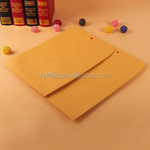 Custom Brown Kraft Manila Envelope 9*12 Inch Clasp Envelopes