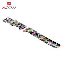 Силиконовый ремешок для часов с цветочным принтом для Samsung Gear S2 R720, сменный браслет для мужчин и женщин, ремешок для смарт-часов, SM-R720(Китай)