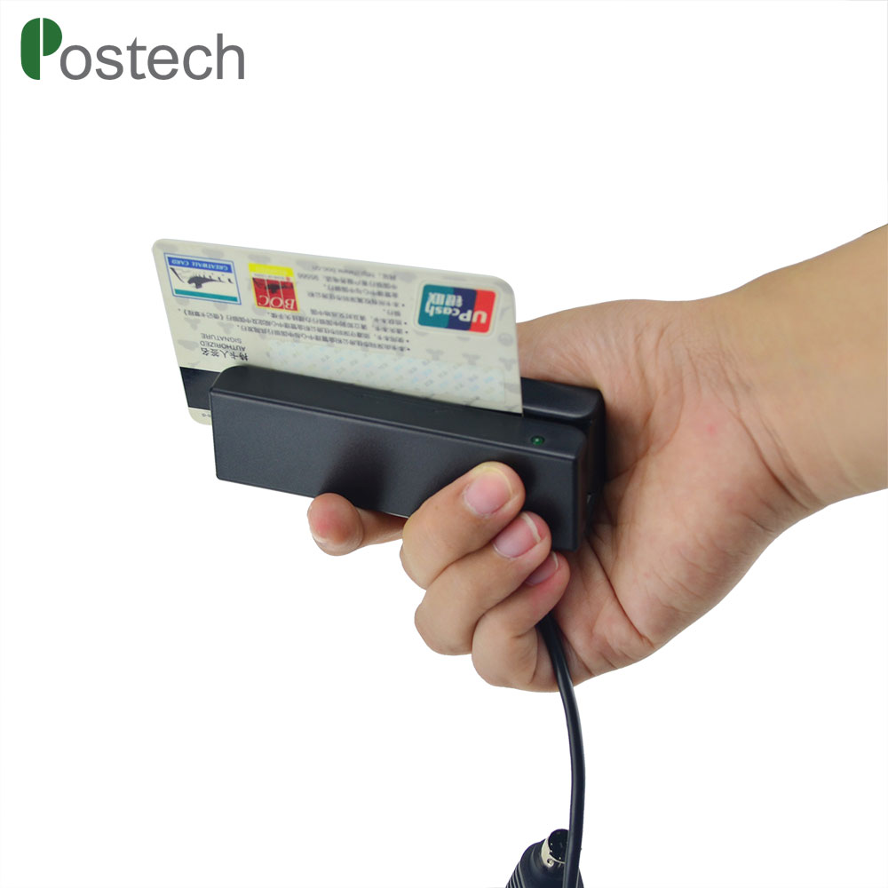 MSR100 USB Magnetic Strip Card Reader POS Retail VIP Gift Card Reader