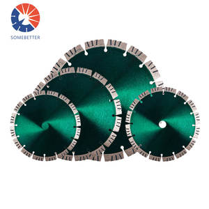"High Frequency Factory Supply Wholesale 450mm Silent Segmented Qualified And Durable Blades Gang 12"" Diamond Blade Saw For Glass"