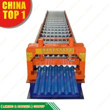 botou steel structural jch 760 roof tile metal sheet roll forming machine roof joint fix tile making machine cangzhou