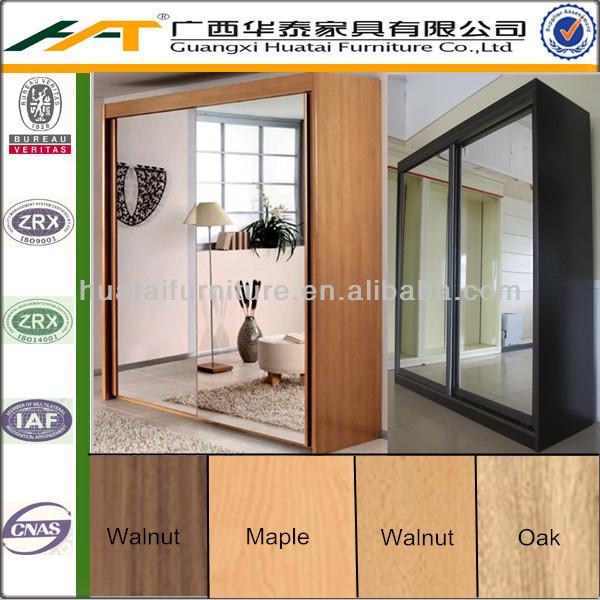 Portes Coulissantes Armoire Avec Des Miroirs  Meubles De Chambre