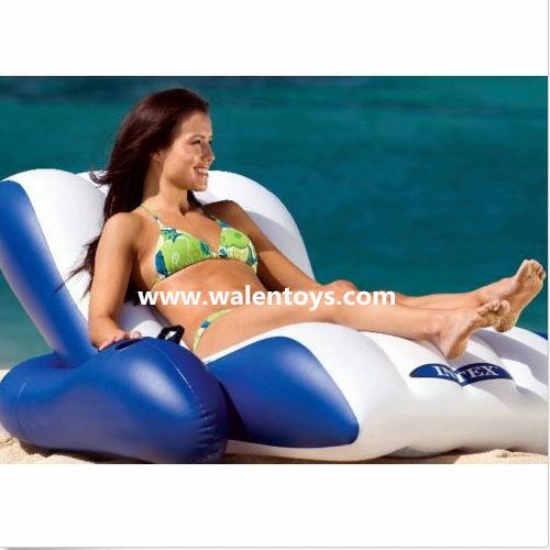 intex zwembad stoel lounge ligstoel fauteuil vlotter