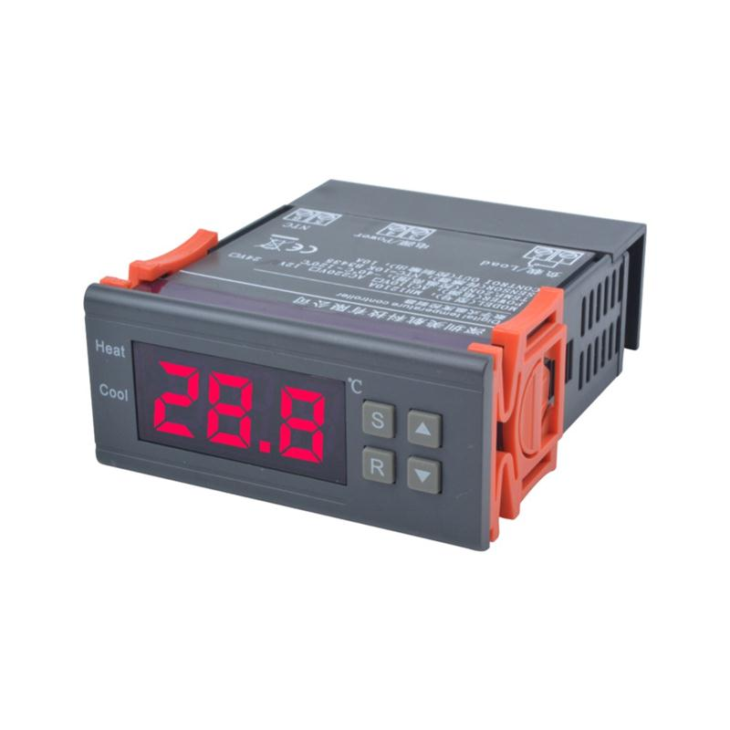 Hot selling Digitale Temperatuurregelaar 12 V 10A Thermostaat Regulator met Sensor-40 ~ 120C Verwarming Koeling Controle