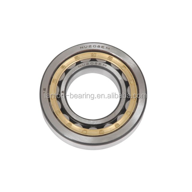 NTN / NSK brand bearing NU2206E Cylindrical Roller Bearing high precision brass cage