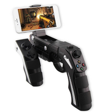 SALANGE Draadloze <span class=keywords><strong>Pistool</strong></span> Stijl iPaga 9057 Video VR Gamepad Android Bluetooth Joystick & Game <span class=keywords><strong>Controller</strong></span> voor Smart Telefoon/Tablet <span class=keywords><strong>PC</strong></span>