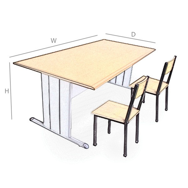 China Golden Supplier Widely Used Cheap Reading Table And