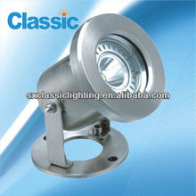 ce rohs 1-3W LED underwater lights