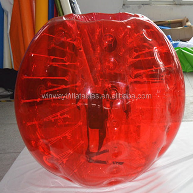 Top outdoor toys kids inflatable body zorb/ body bumper ball BW7016