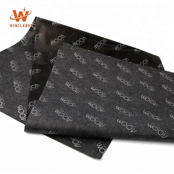 Custom Brand Name Printed Wrapping Tissue Paper for Clothing