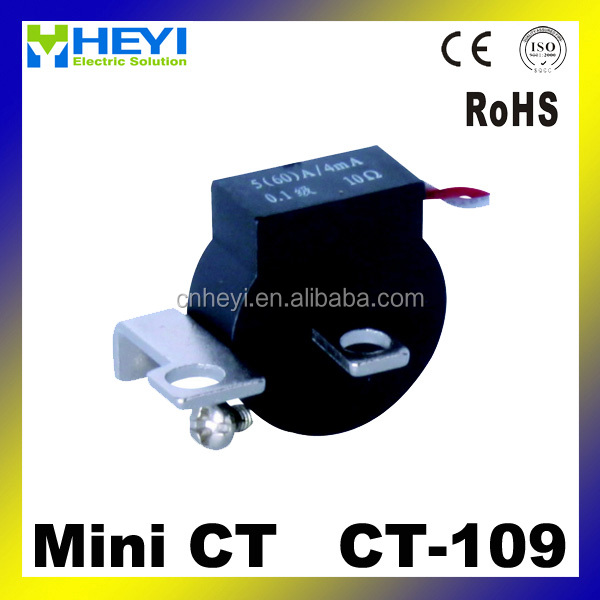 CT manufacturers Loading type CT-109 low voltage mini current transformer
