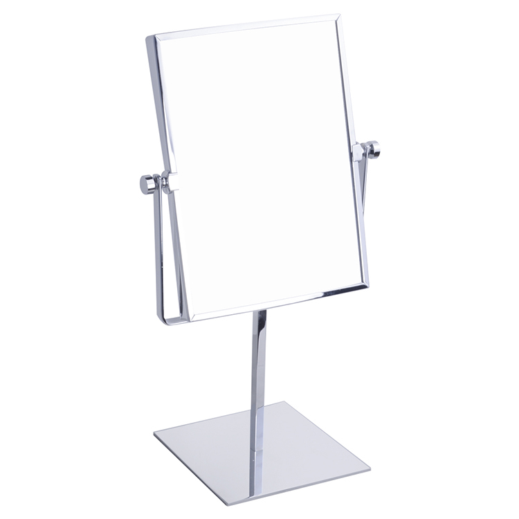Newest selling LY-2253 double sides square desktop makeup mirror