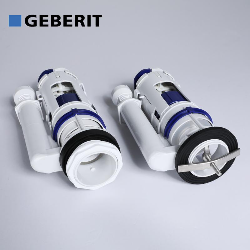 ViaGasaFamido Vanne de vidange de Toilettes Double Chasse deau Valve de Chasse deau pour r/éservoir de Toilettes Accessoires UK G1//2 29cm