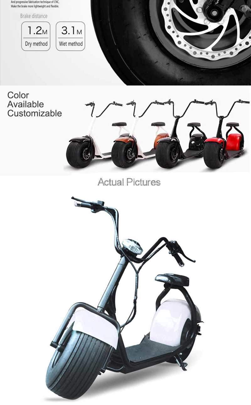 Escooter/e Big Wheel 60v 1000w 20ah Two Wheel Leadway Scooter Electric For  Adult With Diy Parts Kit - Buy Scooter Electric Big Wheel,Scooter Electric