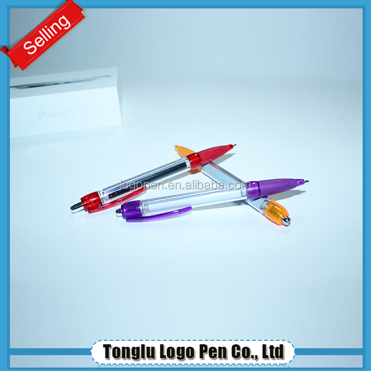 promotion pen with roll out paper ball-point pen
