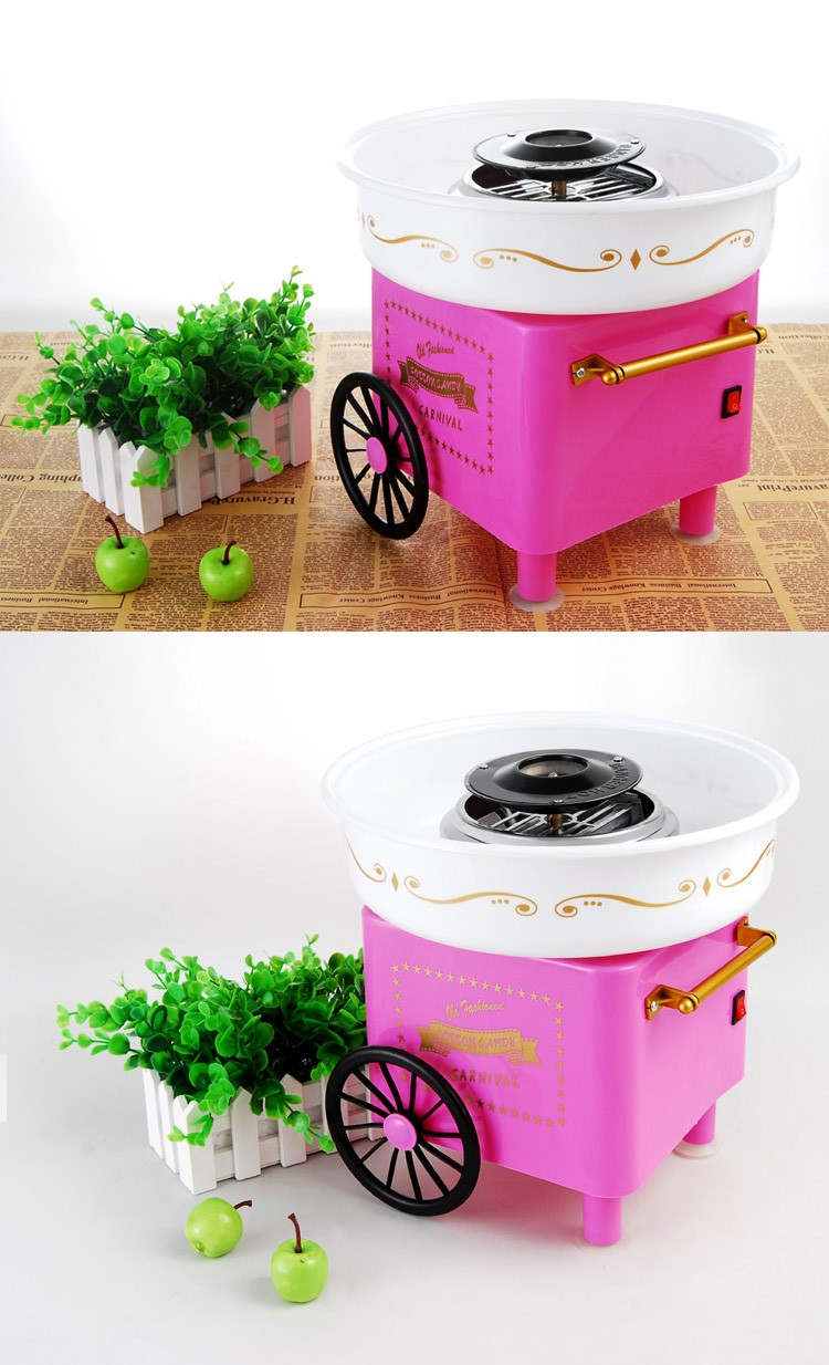 Factory direct sale household electric cotton candy maker/mini spun Sugar Machine