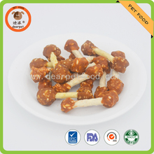 Chicken Rice and munchy sticks Dumbbell dry dog treats pet snack