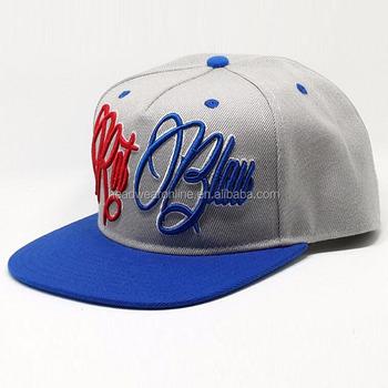 Wholesale Yupoong Blank Plain Good Quality Custom Embroidery Two Tone  Basketball Snapback Hat 71b1533f1ae