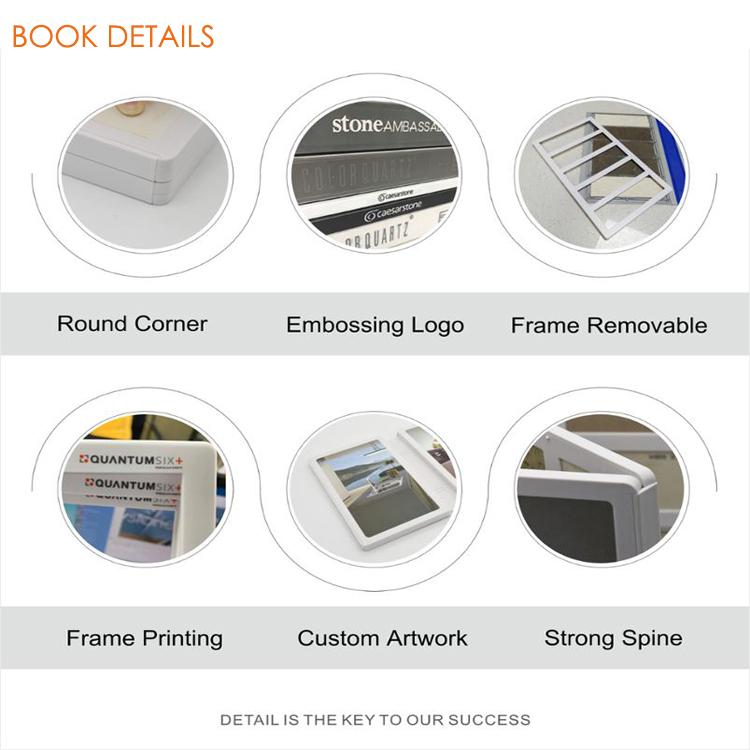 PY022-C Tsianfan plastic stone sample book