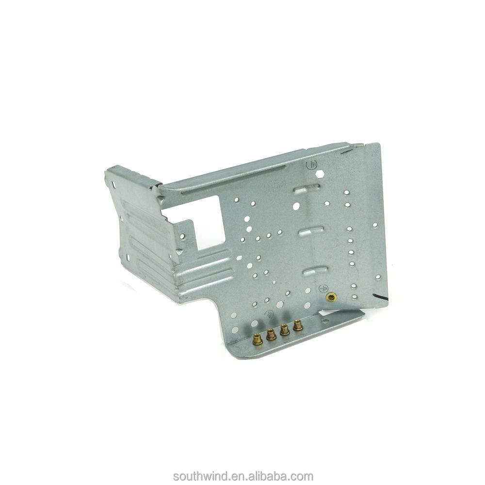 OEM Air Conditioner Electrical Box Galvanized Stamping Support Bracket