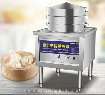 Commercial Asia Restaurant Kitchen Heavy Duty Siopao Steamer - Buy ...