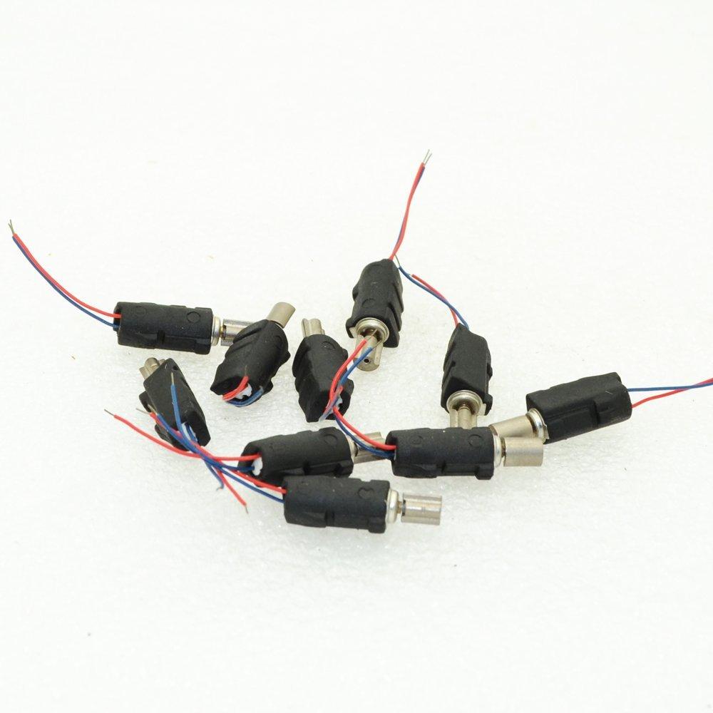 10pcs Japan 000726L DC1.5-3V 0.1A-0.2A Micro Coreless Vibration Motor 3.9x14mm Mini Coreless Motors Moteur For DIY Motor