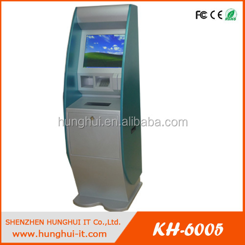 Self Service Touch Screen A4 Laser Printer Kiosk / Hospital A4 Kiosk Laser Printer