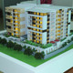 Villa scale model making/miniature architectural model/3d building model for sale