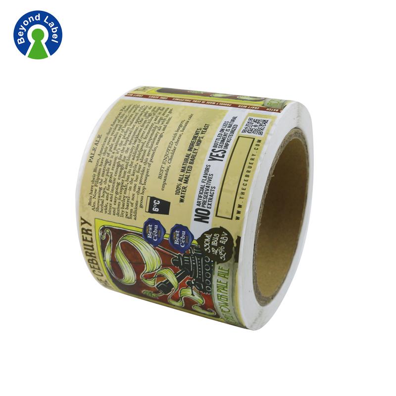 Roll Custom Vinyl Stickers Adhesive Bike Promotion Design Labels - Custom vinyl stickers for promotion