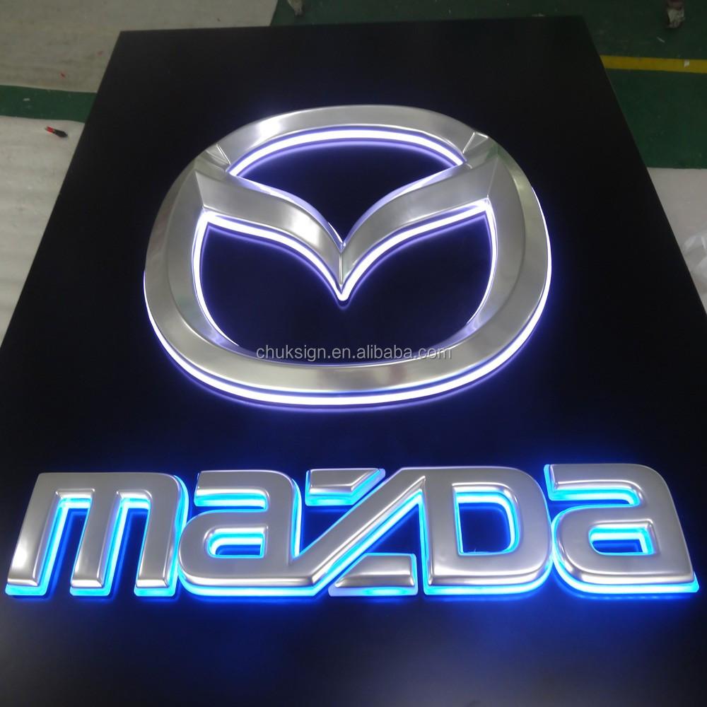 Mazda car logo vacuum formed with borad backlit indoor led sign mazda car logo vacuum formed with borad backlit indoor led sign board biocorpaavc Choice Image