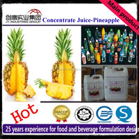 20 Times Concentrated Pineapple Juice Beverage Syrup Raw Material Ingredients