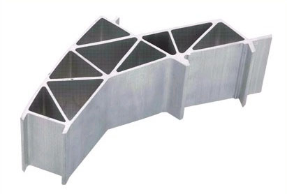Mill finish 6063-T5 extruded triangle aluminum profile