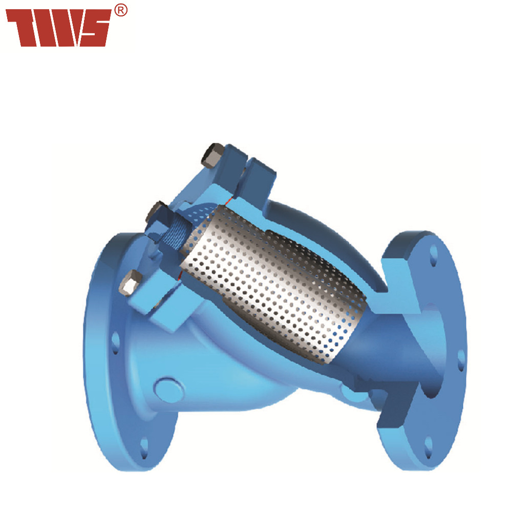 DN40~DN300 Cast Iron Flanged Water Strainer for Pump And Pipe