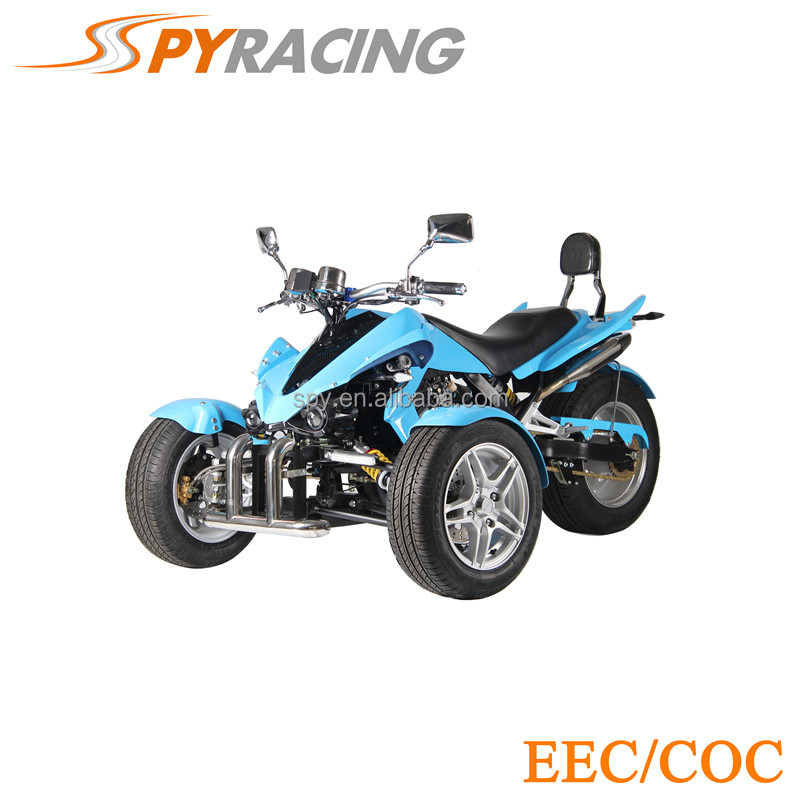 SPY Two Passenger Three Wheel Motorcycle