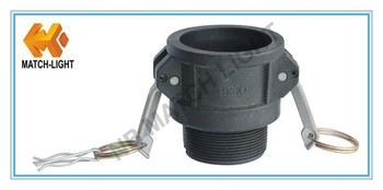 Best Quality PP Hose Pipe Grooved Cam Lock Fittings