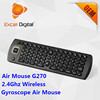 Multimedia air mouse 2.4g G270 air mouse remote control
