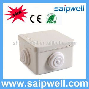 2013 HOT Sale IP66 ABS/PC waterproof post box with cable gland