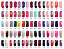 6pcs Color 1000 Beautiful gel polish 10ml 75 colors for choices in feifan