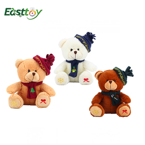 wholesale Custom beautiful plush stuffed cool teddy bear with clothes