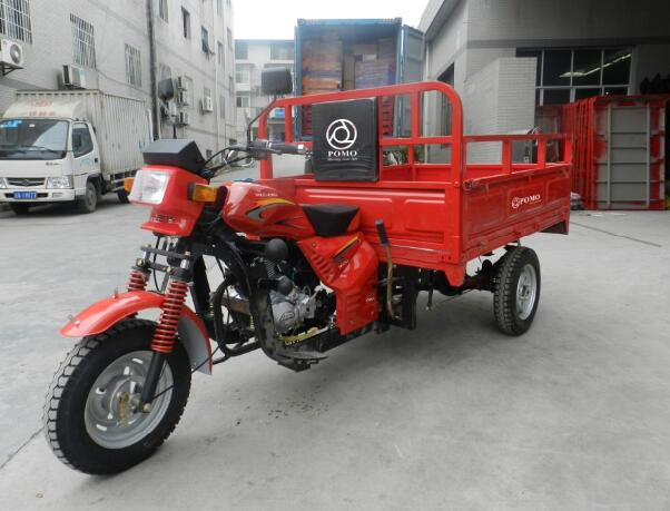 2016 China Cheap 150cc Petrol Three Wheeler Scooter Cargo Motorcycle 3 Wheel Motorized Bike