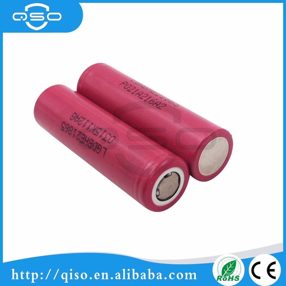 Best price 18650 lg he2 2500mah li-ion battery cell 18650 rechargeable batteries for power tools/E-cig