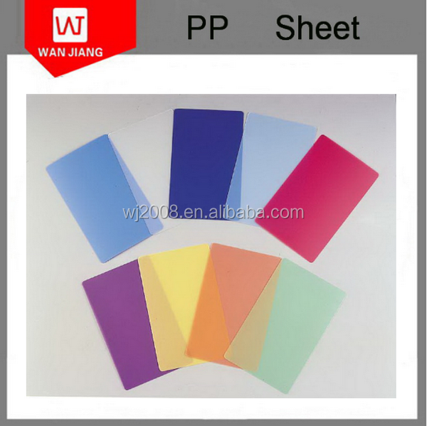 eco friendly Non-toxic Guangdong China factory PP Plastic Sheet